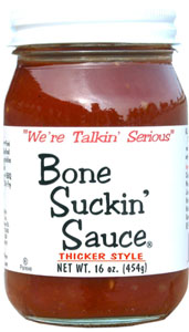 BBQ-Saucen Test:  Bone Suckin Sauce